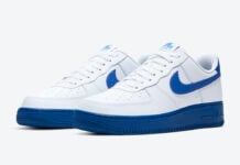 Nike Air Force 1 Low White Royal Blue CK7663-103 Release Date Info