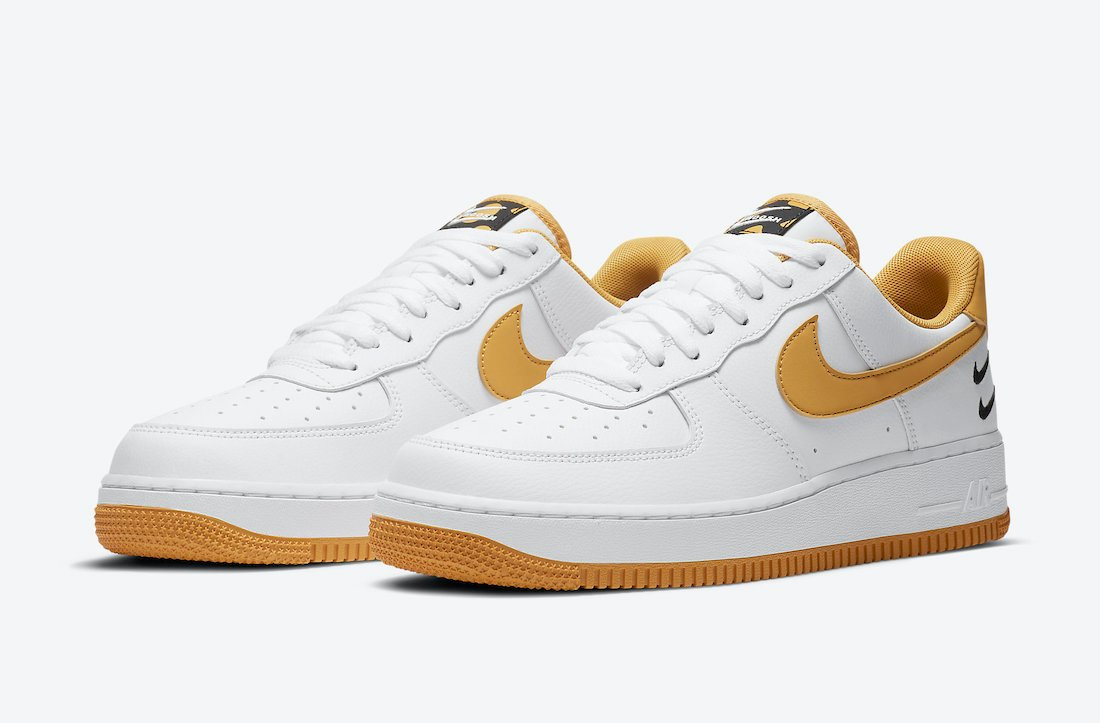 Nike Air Force 1 Low White Wheat Gum CT2300-100 Release Date Info
