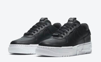 Nike Air Force 1 Pixel Black White CK6649-001 Release Date Info