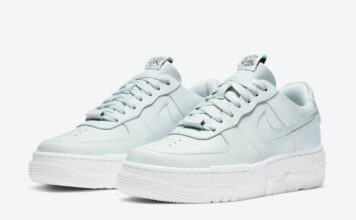 Nike Air Force 1 Pixel Ghost Aqua CK6649-400 Release Date Info