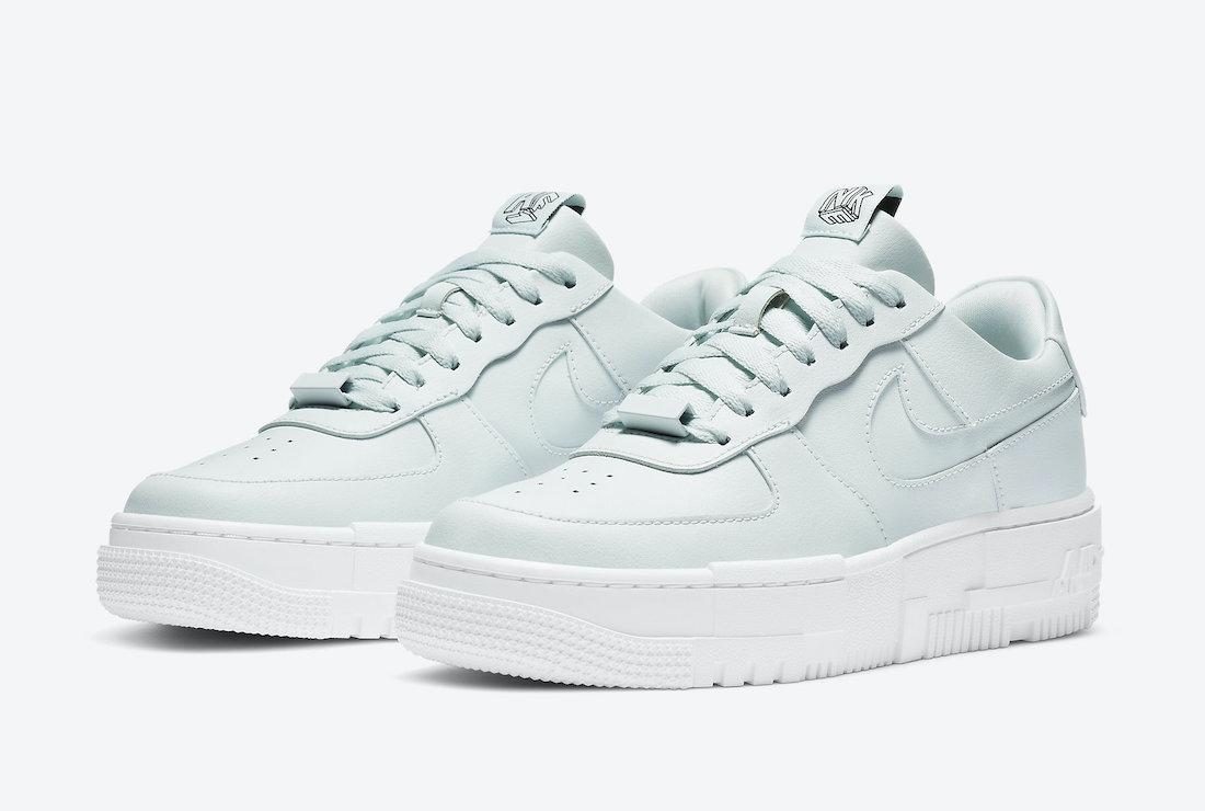 Nike Air Force 1 Pixel Ghost Aqua CK6649-400 Release Date Info
