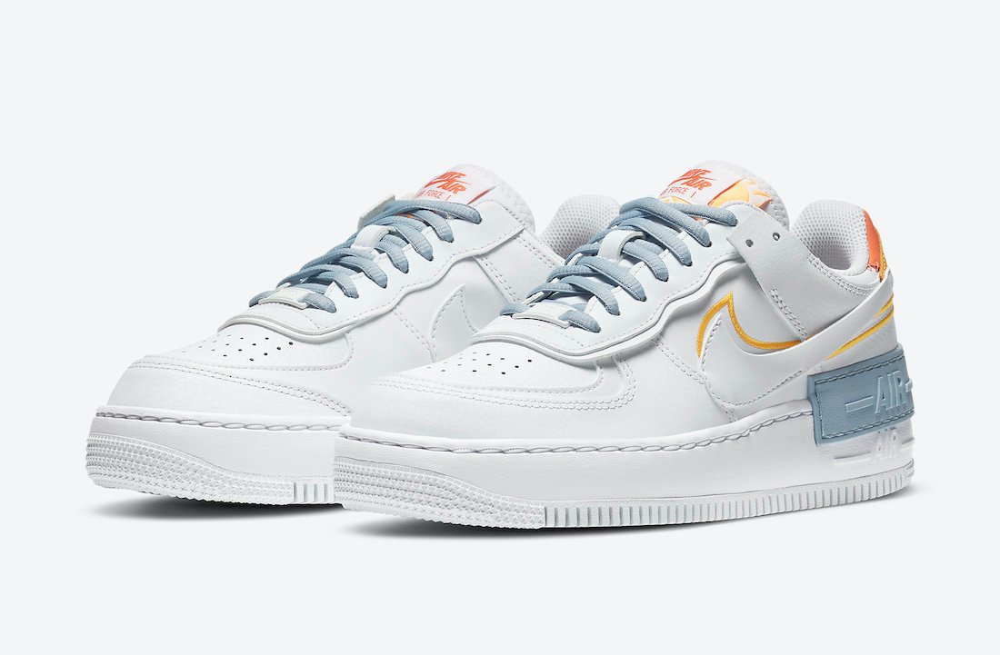 Nike Air Force 1 Shadow Be Kind DC2199-100 Release Date Info