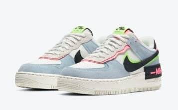 Nike Air Force 1 Shadow Sunset Pulse CU8591-101 Release Date Info