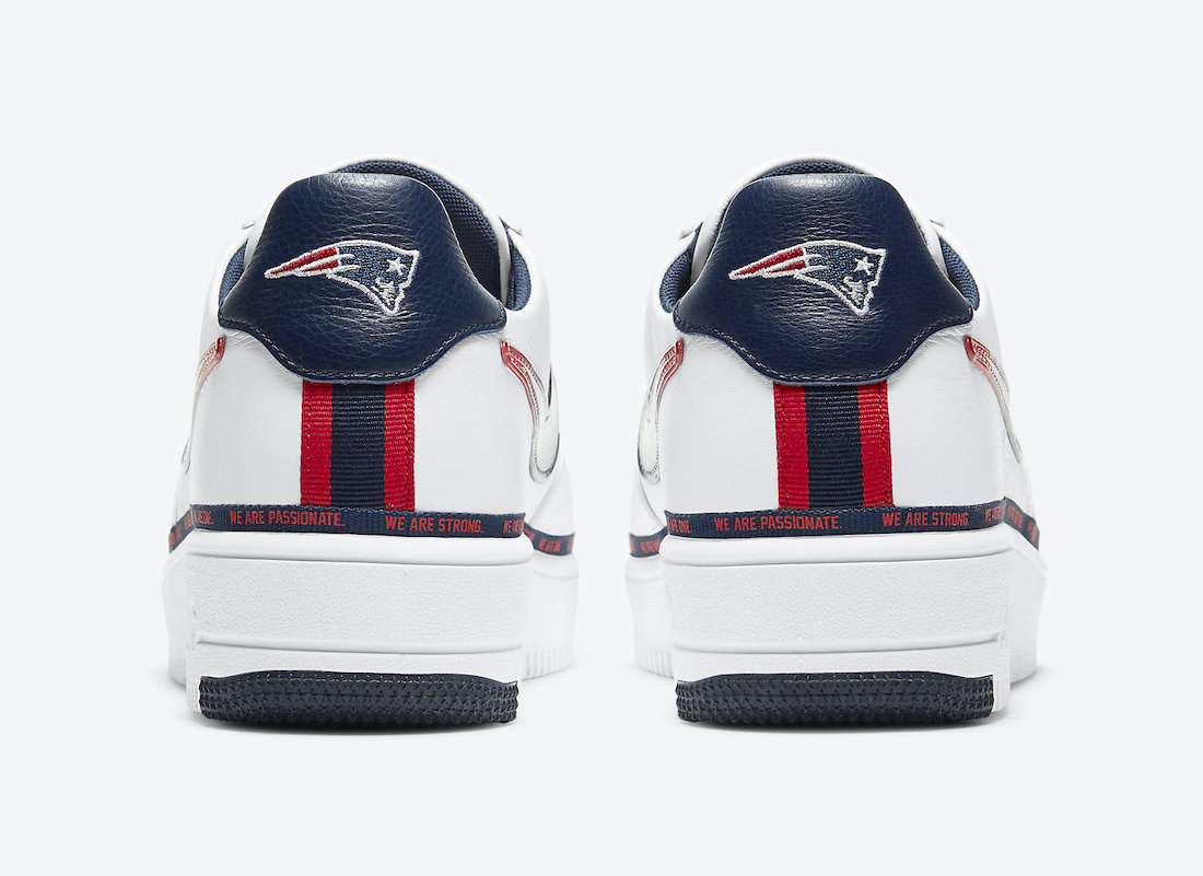 Nike Air Force 1 Ultraforce New England Patriots DB6316-100 Release Date Info