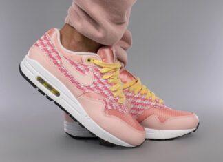 Nike Air Max 1 Strawberry Lemonade CJ0609-600 On Feet
