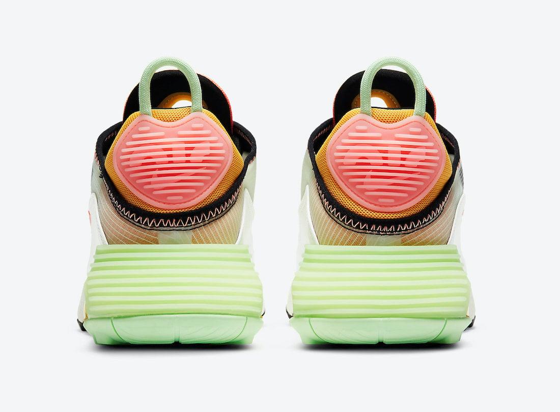 Nike Air Max 2090 Vapor Green Atomic Pink CZ3867-100 Release Date Info