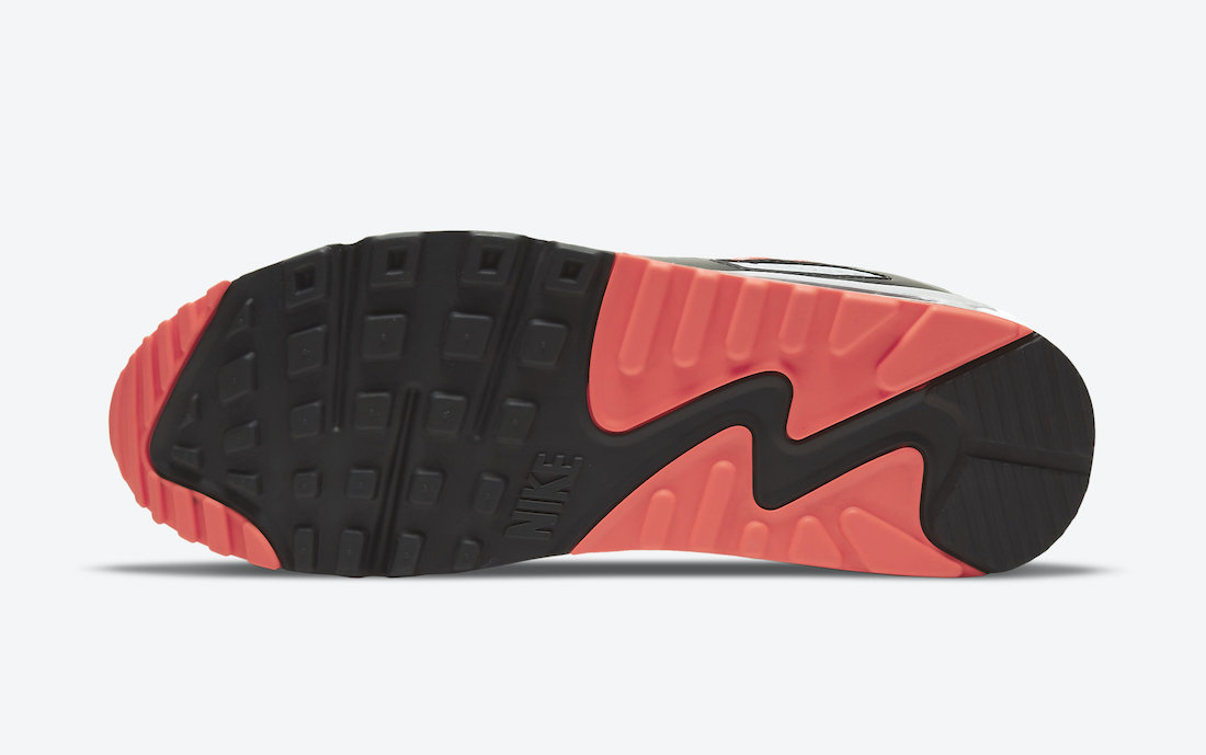 Nike Air Max 90 Black Radiant Red CZ4222-001 Release Date Info