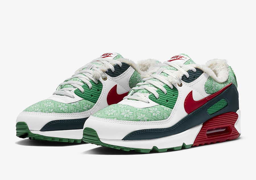 Nike Air Max 90 Christmas DC1607-100 Release Date