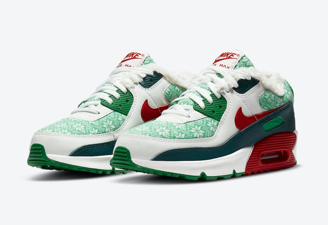 Nike Air Max 90 Nordic Christmas DC1607-100 Release Date Info ...