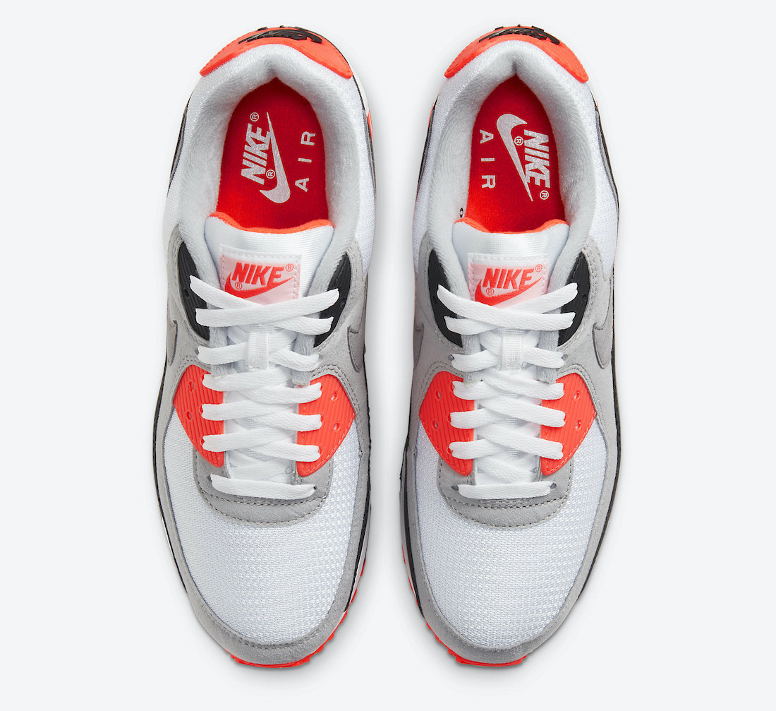 Nike Air Max 90 Infrared CT1685-100 Release Details