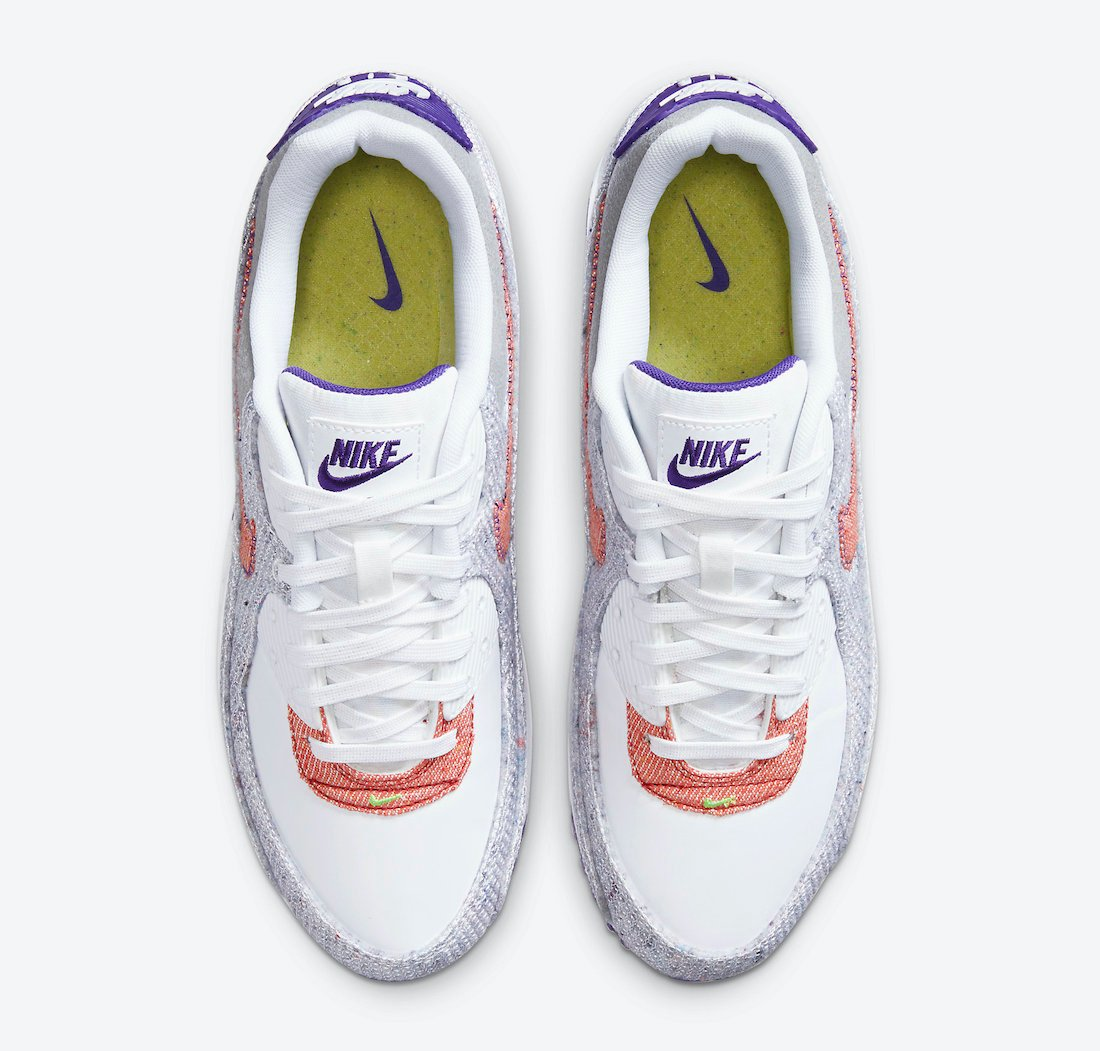 Nike Air Max 95 NRG White Electric Green Court Purple CT1684-100 Release Date Info
