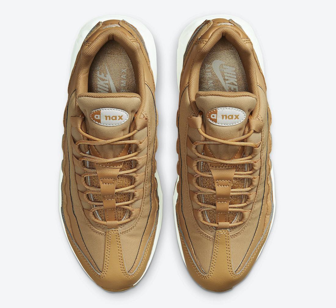 Nike Air Max 95 Wheat CZ3951-700 Release Date Info