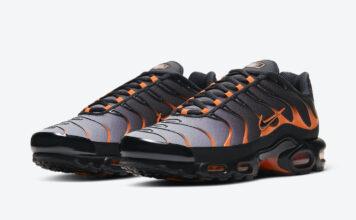 Nike Air Max Plus Black Orange DD7111-002 Release Date Info