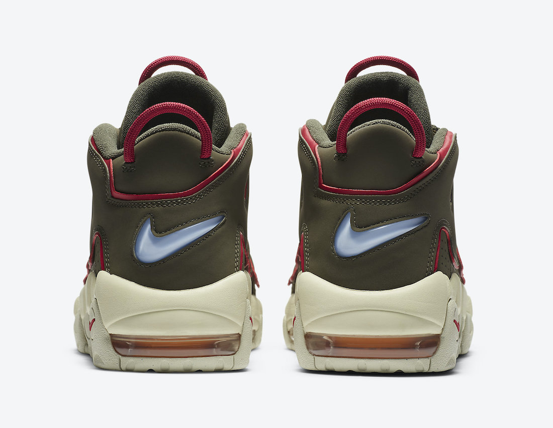 Nike Air More Uptempo Cargo Khaki DH0622-300 Release Date Info