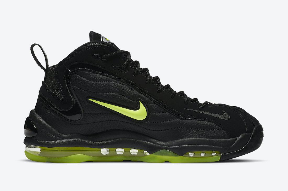 Nike Air Total Max Uptempo Black Volt DA2339-001 Release Date Info