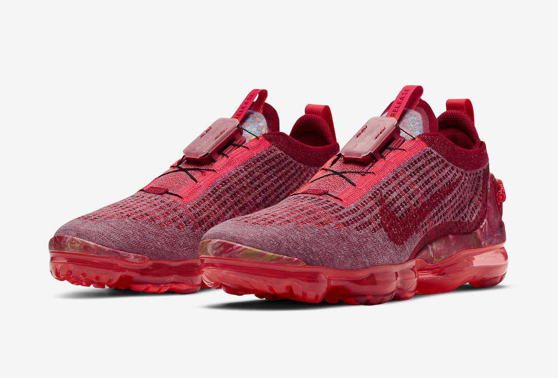 Nike Air VaporMax 2020 Team Red Gym Red Crimson CT1823-600 Release Date Info