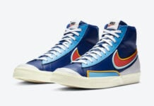 Nike Blazer Mid 77 Infinite Royal Red DA7233-400 Release Date Info