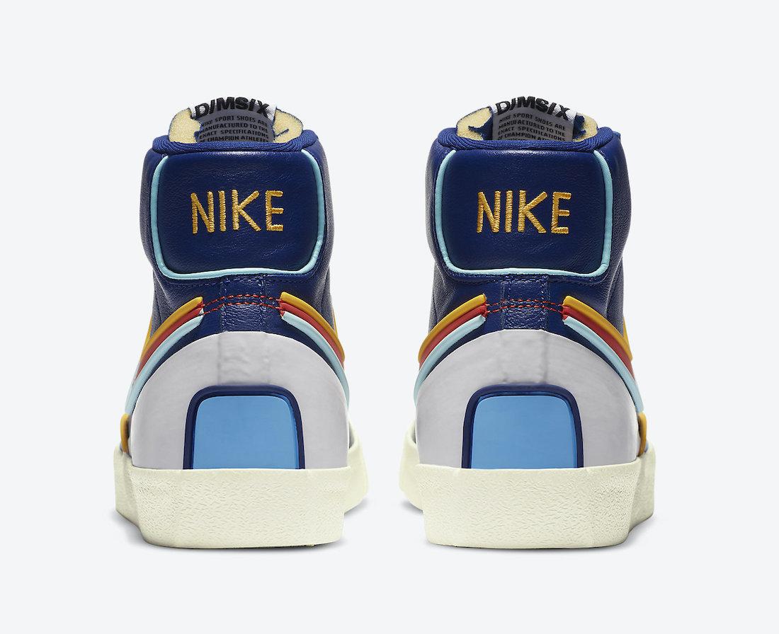 Nike Blazer Mid 77 Infinite Royal Red DA7233-400 Release Date Info