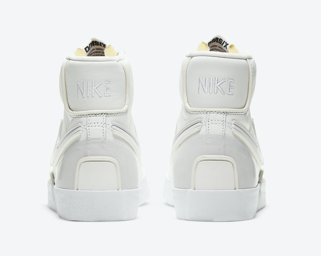 Nike Blazer Mid 77 Infinite White Sail DC1746-101 Release Date Info