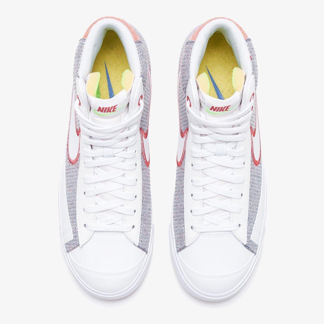 Nike Blazer Mid 77 Recycled CW5838-022 Release Date Info