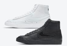 Nike Blazer Mid Black DD0502-001 White DD0502-100 Release Date Info