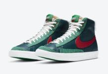 Nike Blazer Mid Christmas DC1619-300 Release Date Info