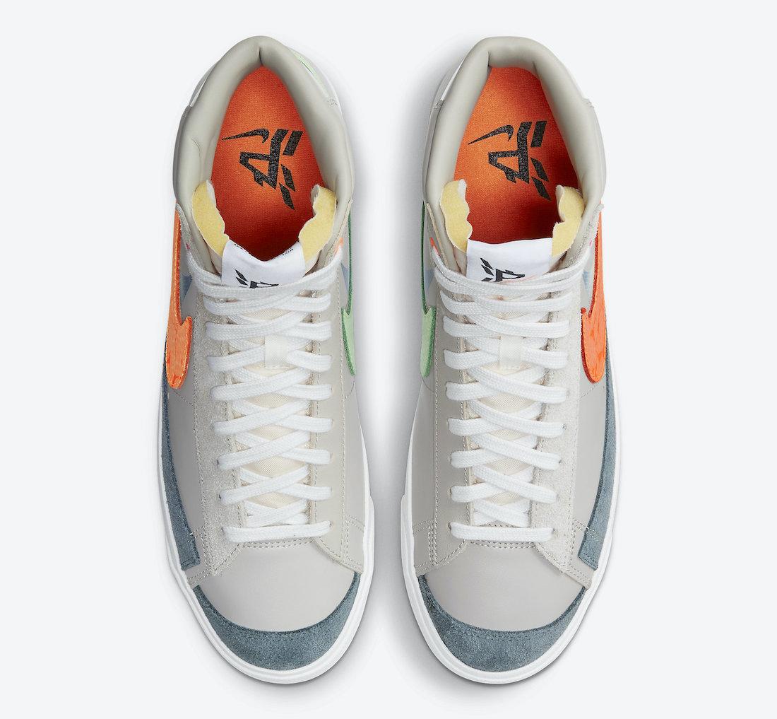 Nike Blazer Mid Shanghai DC3278-280 Release Date Info