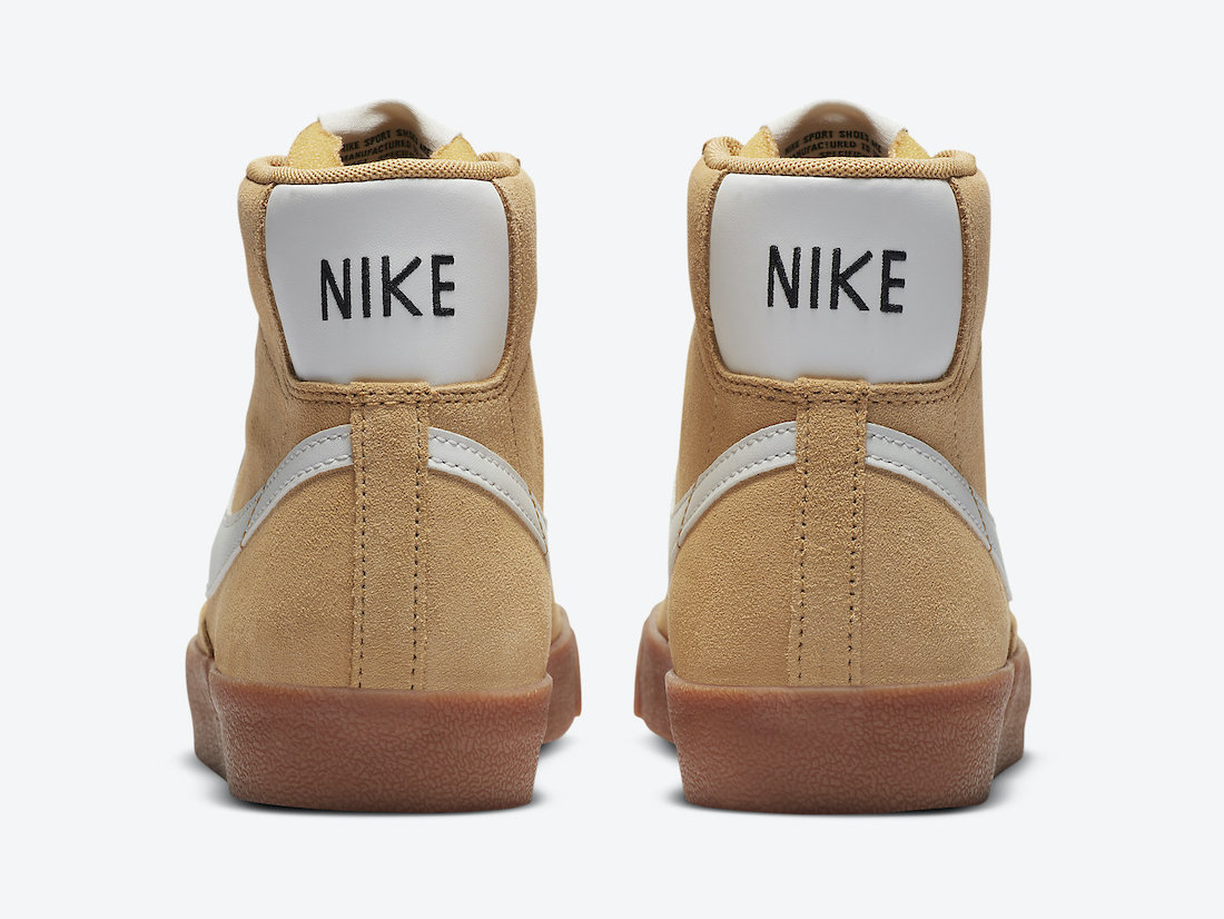 Nike Blazer Mid Wheat Gum DB5461-700 Release Date Info