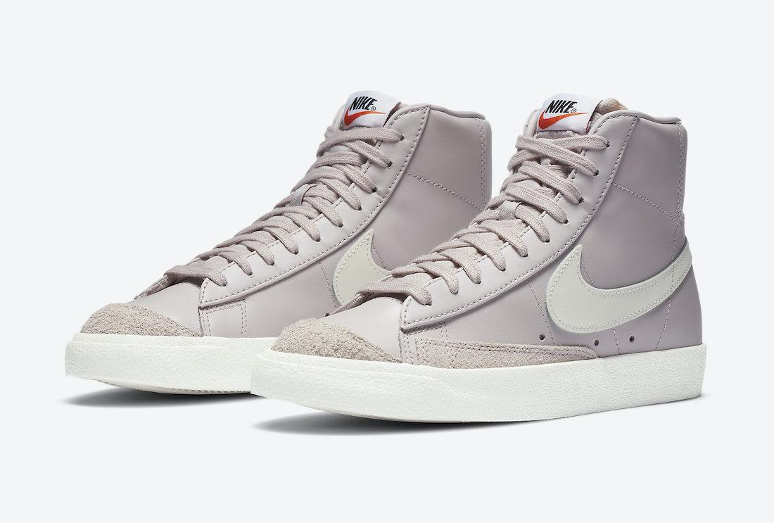 Nike Blazer Mid WMNS Platinum Violet CZ1055-002 Release Date Info
