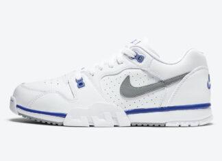 Nike Cross Trainer Low White Blue Grey CQ9182-102 Release Date Info