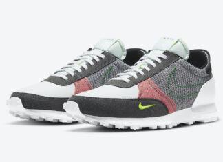 Nike Daybreak Type Grey Green White DB4636-022 Release Date Info