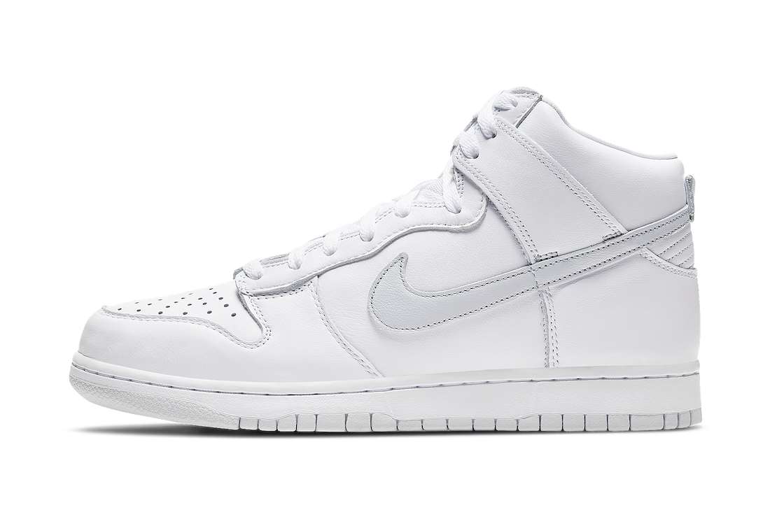 Nike Dunk High White Pure Platinum CZ8149-101 Release Date Info