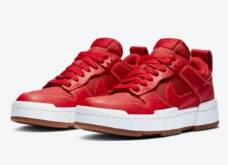 Nike Dunk Low Disrupt Red Gum CK6654-600 Release Date Info