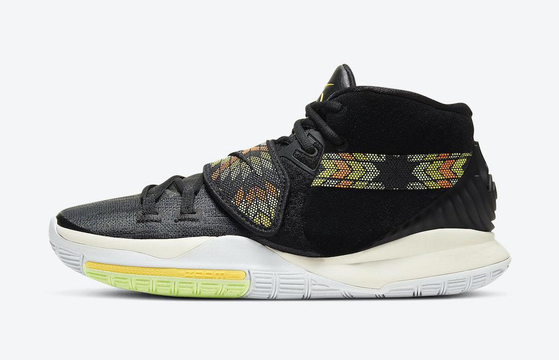 Nike Kyrie 6 N7 Black DA1348-001 Release Date Info