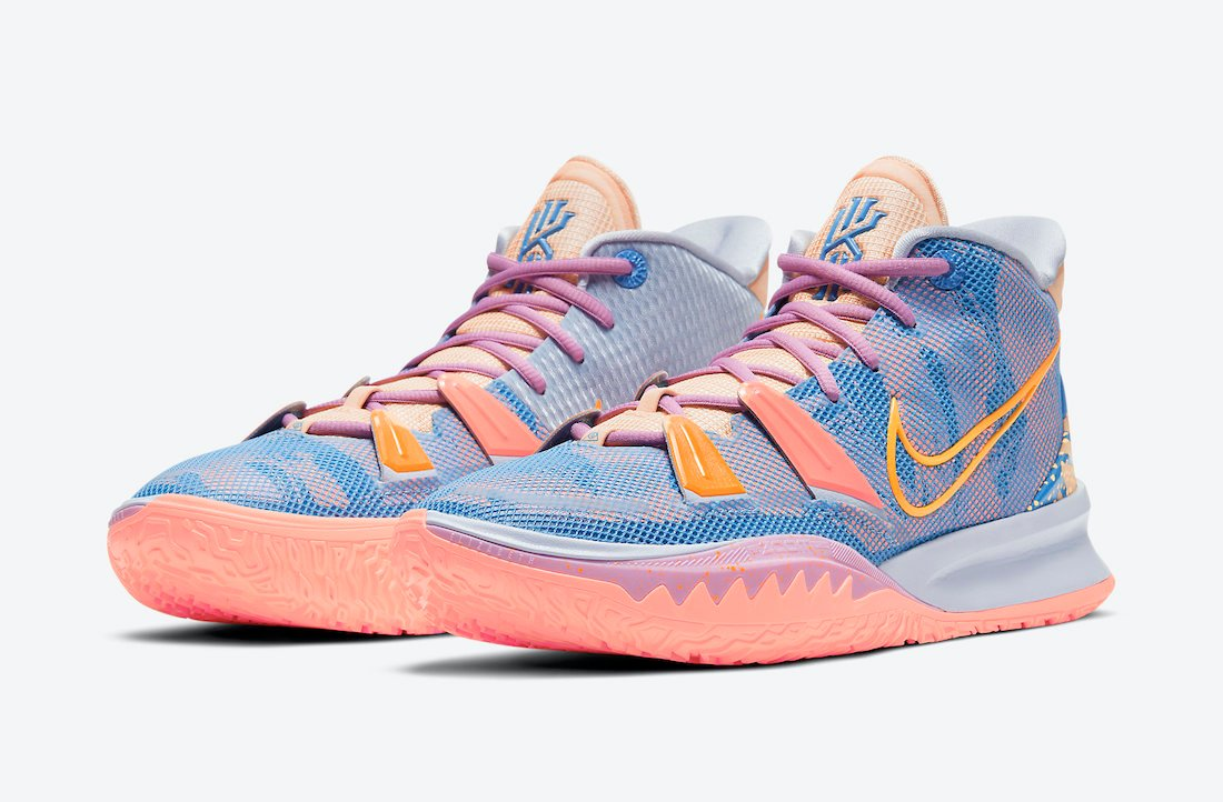 Nike Kyrie 7 Expressions DC0589-003 Release Date Info