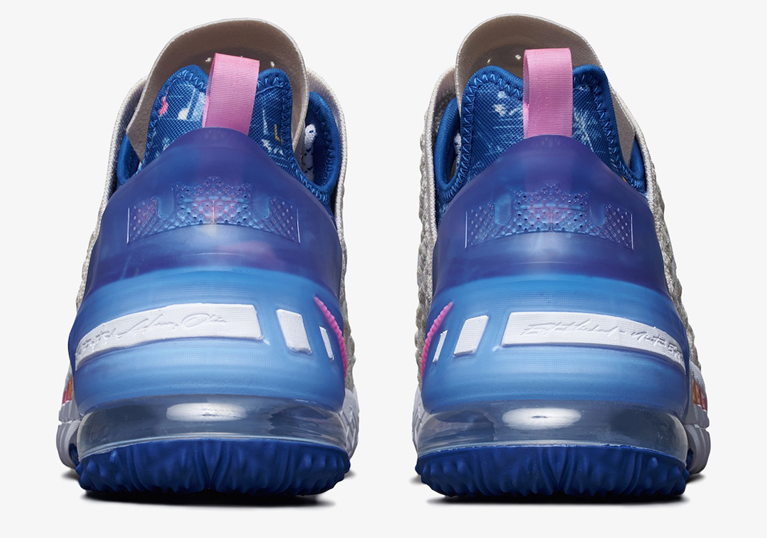 Nike LeBron 18 Los Angeles By Day DB8148-200 Release Date Info