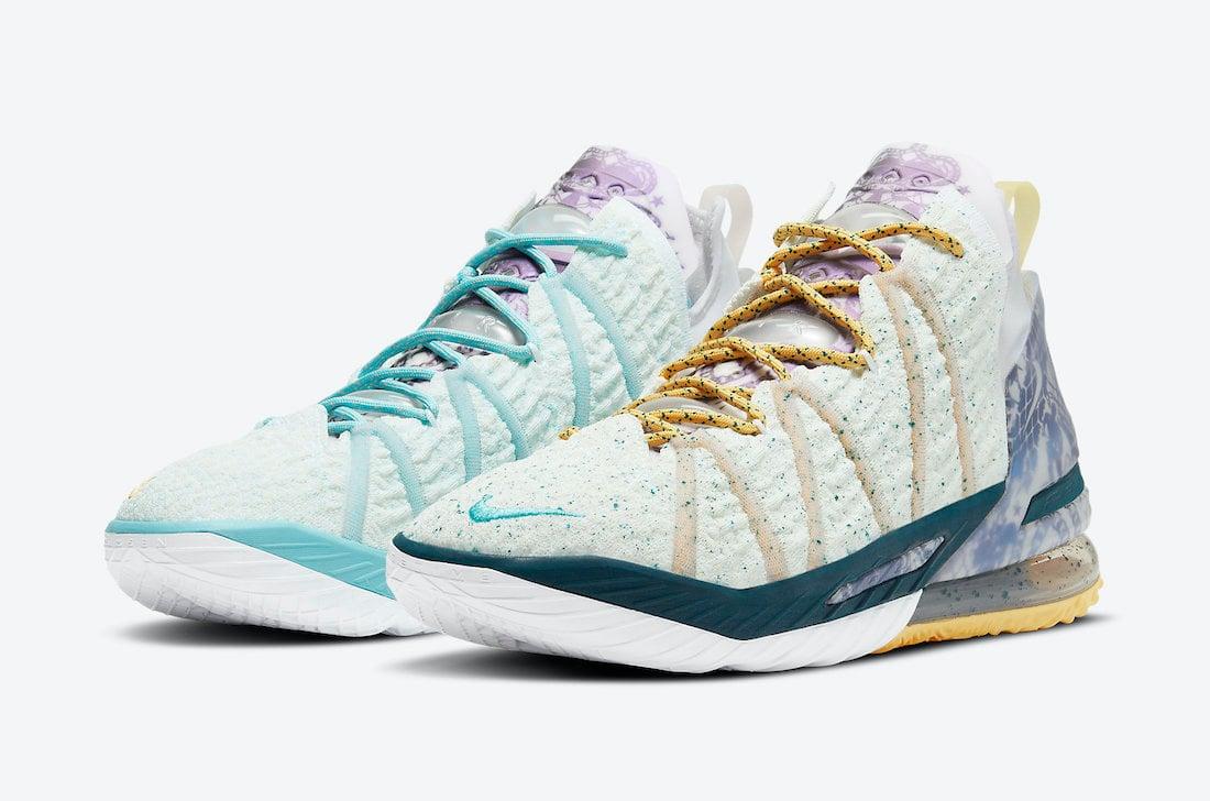 Nike LeBron 18 Reflection Flip DB8148-100 Release Date Info