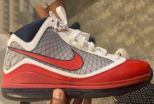 Nike LeBron 7 USA White Rush Blue University Red Release Date