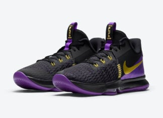 Nike LeBron Witness 5 Lakers CQ9381-001 Release Date Info