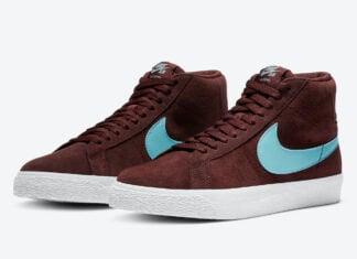 Nike SB Blazer Mid Glacier Ice 864349-600 Release Date Info