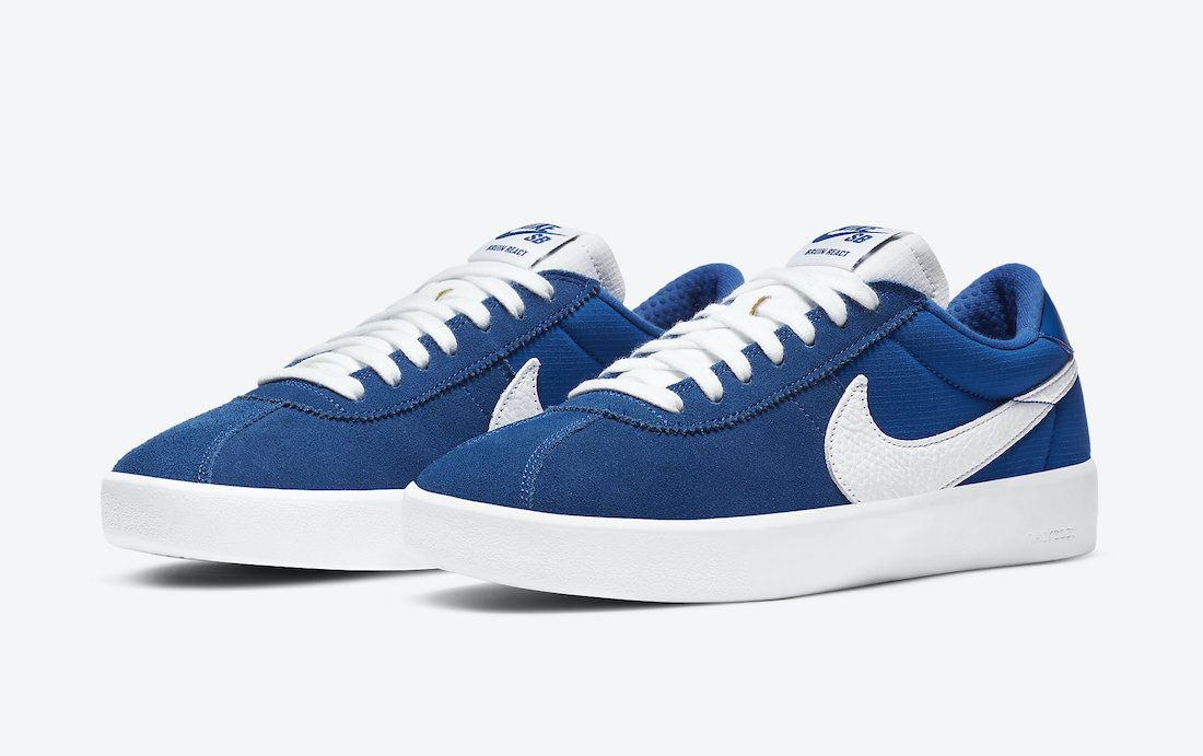 Nike SB Bruin React Team Royal CJ1661-404 Release Date Info