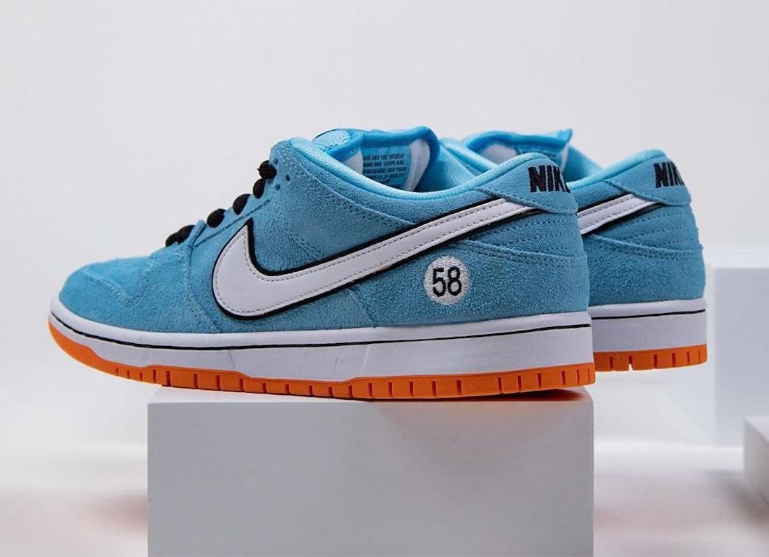 Nike SB Dunk Low Club 58 Gulf Racing Release Date Info