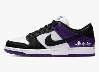 Nike SB Dunk Low Court Purple White Black BQ6817-500 Release Date Info