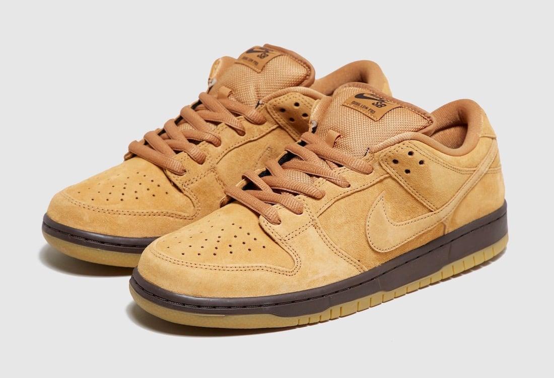 Nike SB Dunk Low Wheat Mocha BQ6817-204 Release Date