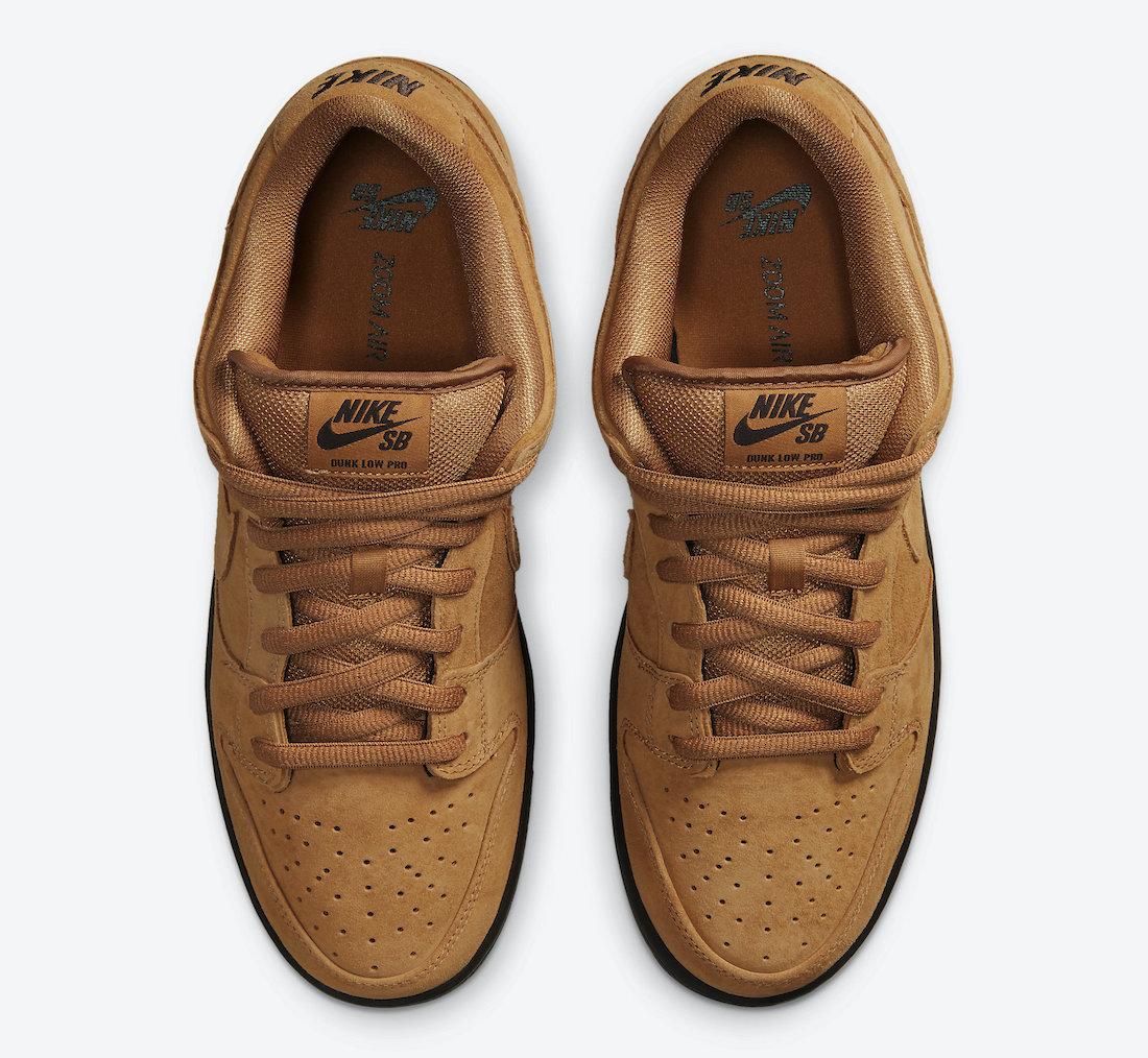 Nike SB Dunk Low Wheat Mocha BQ6817-204 Release Info Price