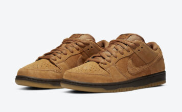Nike SB Dunk Low Wheat Mocha BQ6817-204 Release Info Price