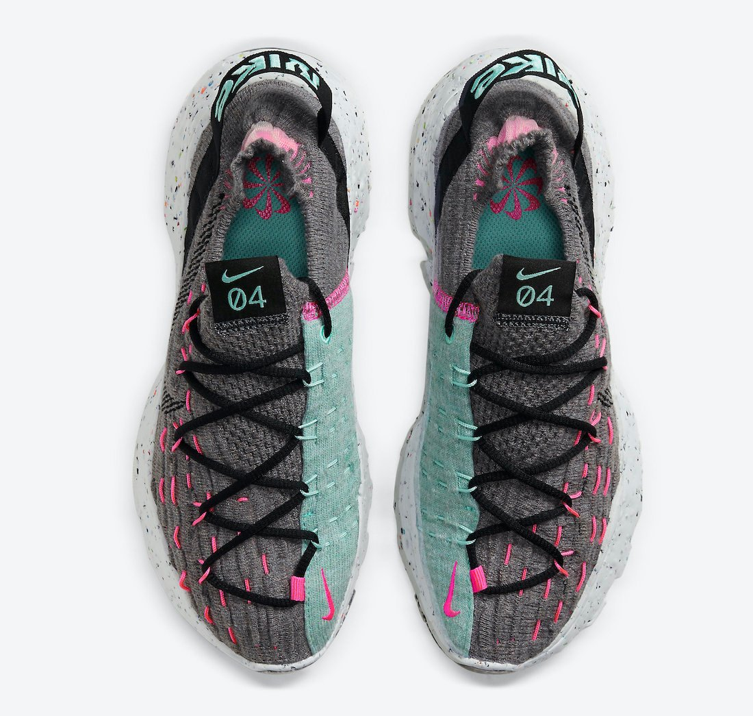 Nike Space Hippie 04 Smoke Grey Pink Blast CD3476-003 Release Date Info