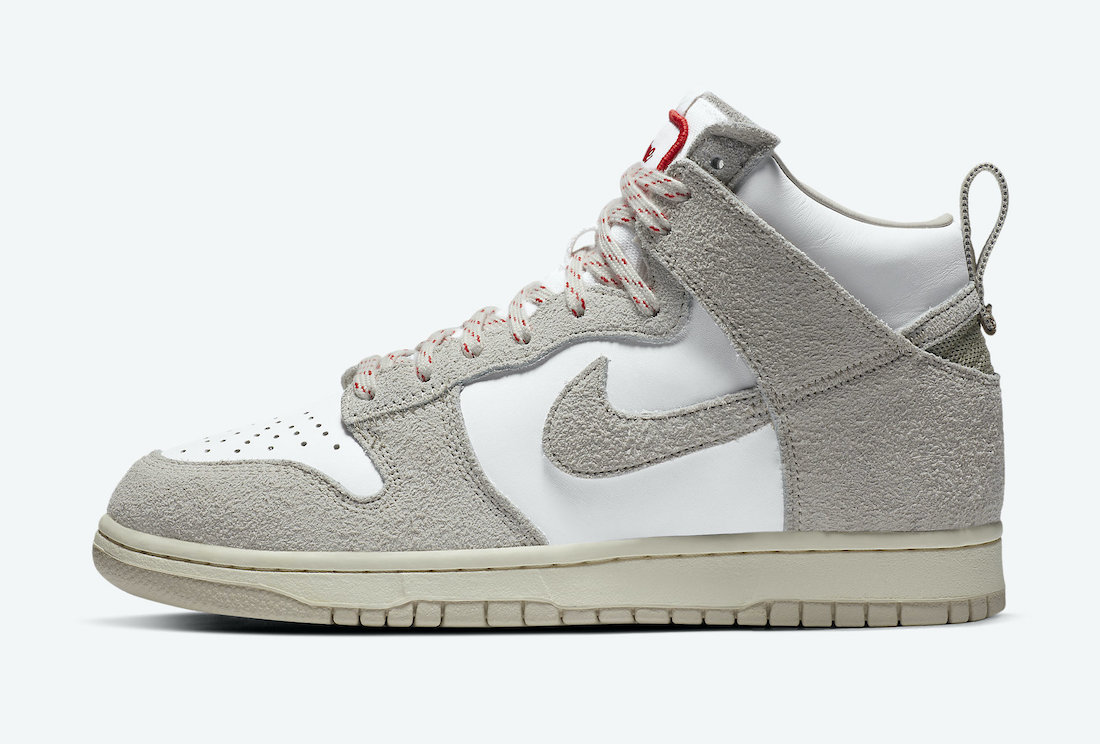 Notre Nike Dunk High Light Orewood Brown CW3092-100 Release Date