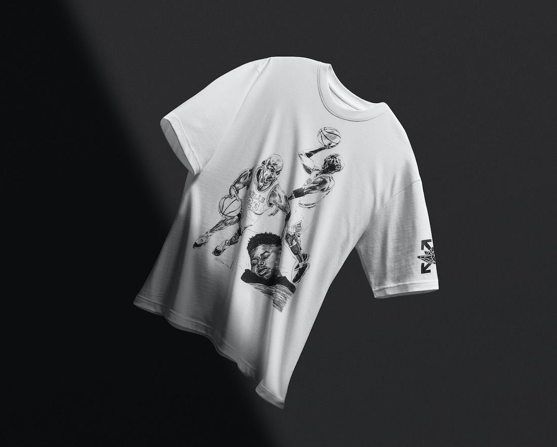 Off-White Air Jordan 5 Sail Shirt