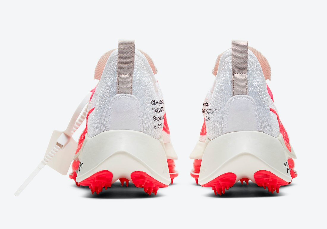 Off-White Nike Air Zoom Tempo NEXT CV0697-100 Release Date
